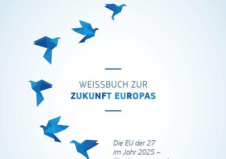 Auf dem Weg zu einem europäischen Wirtschaftskodex: Weißbuch zur Zukunft Europas, Europäische Kommission, 1. März 2017: Afrika zeigt Europa den Weg