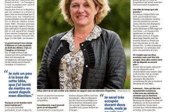 La députée Valérie Gomez-Bassac planche sur un Code européen des affaires