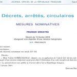 decrete-13-fevrier-2019-mission-parlementaire