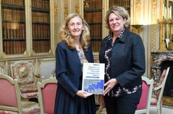 Code européen des affaires / Remise du rapport sur l'élaboration d'un Code européen du droit des affaires à Mme la Garde des Sceaux, Nicole Belloubet