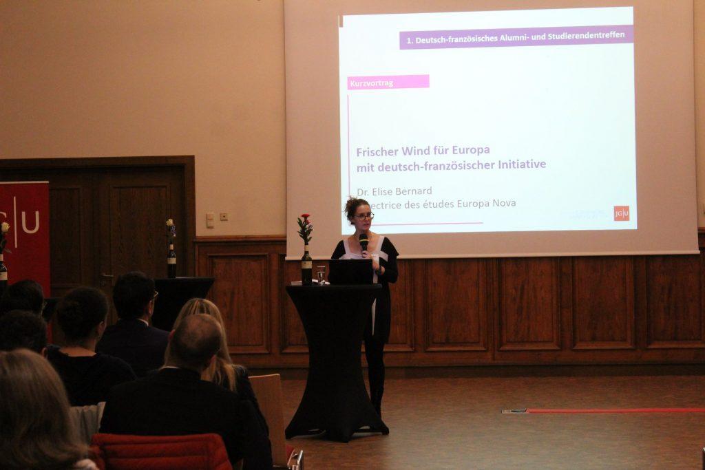 Elise Bernard : « Une nouvelle initiative franco-allemande pour l'Europe »