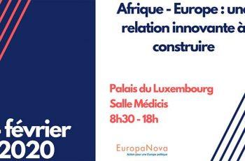 Compte-rendu de la conférence « Afrique-Europe : une relation innovante à construire », le 14 février 2020