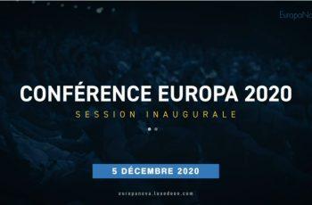 Replay : Conférence Europa 2020 Samedi 5 décembre 2020 de 10h40 à 13h
