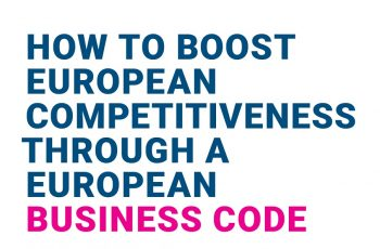 How to boost European competitiveness through a European business Code